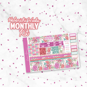 "May ""Delilah"" Hobonichi Weeks Monthly Kit"