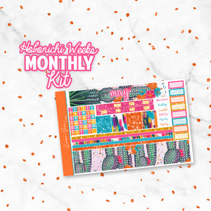 "May ""Cinco De Mayo"" Hobonichi Weeks Monthly Kit"