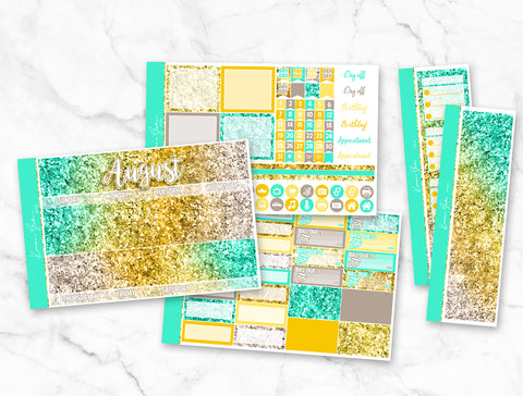 August Glitter Monthly Overview Kit