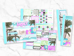 "August ""California Love"" Monthly Overview Kit"