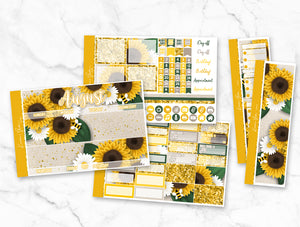 "August ""Sunflowers"" Monthly Overview Kit"