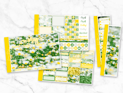 "May ""Daisy"" Monthly Overview Kit"