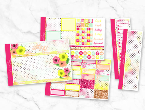"May ""May Flowers"" Monthly Overview Kit"