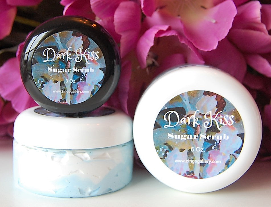 Dark Kiss Sugar Scrub - 3 oz