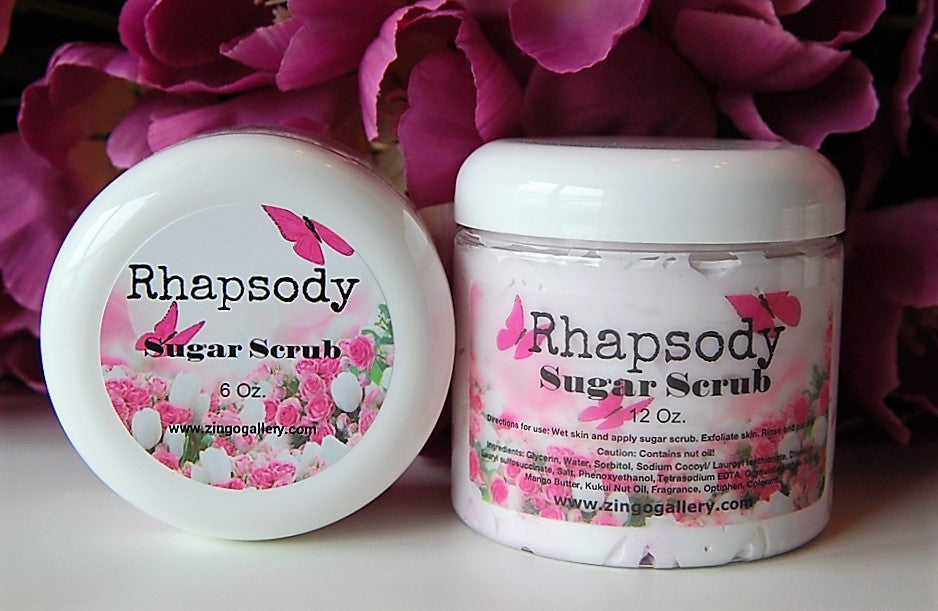 Rhapsody Sugar Scrub - 12 oz
