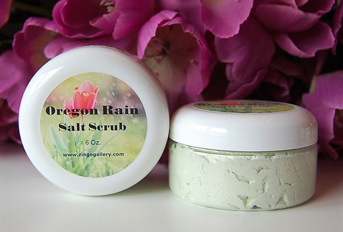 Oregon Rain Salt Scrub - 6 oz