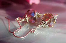 Faceted Glass Earrings