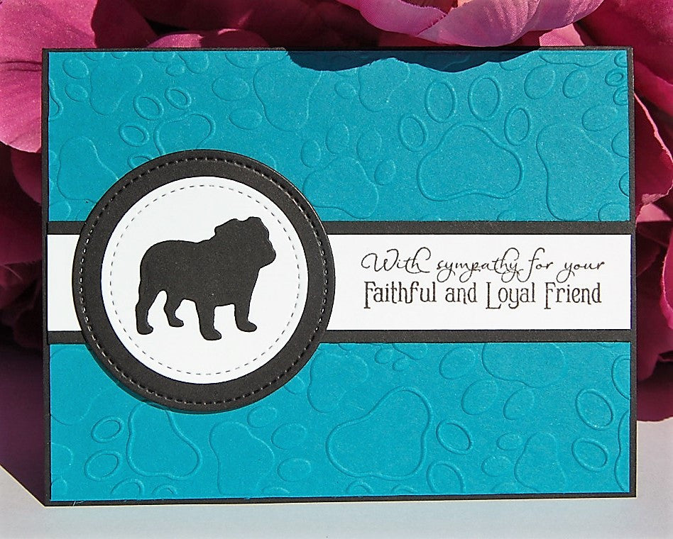 Faithful Friend - Dog - Turquoise
