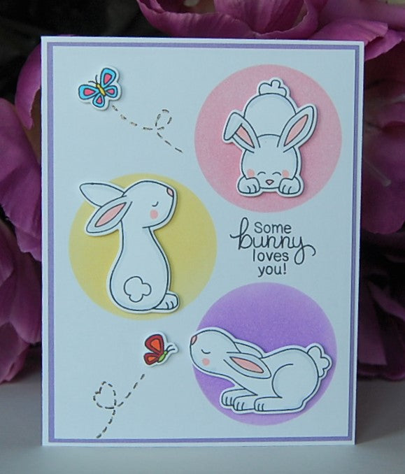 some bunny loves you! Bunny Trio #1