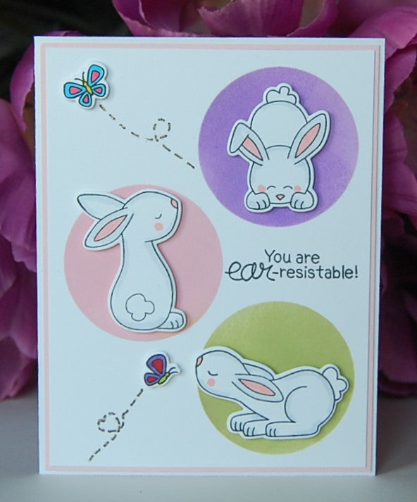 You are ear-resistable! Bunny Trio #1