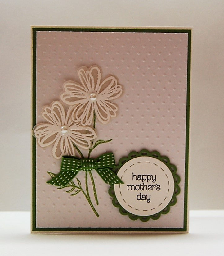 Vellum Flowers - happy mother's day