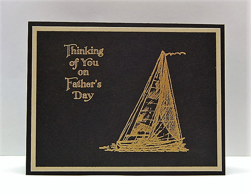 Sailboat - Thinking of You on Father's Day