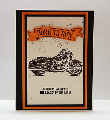 Born To Ride - Birthday Wishes