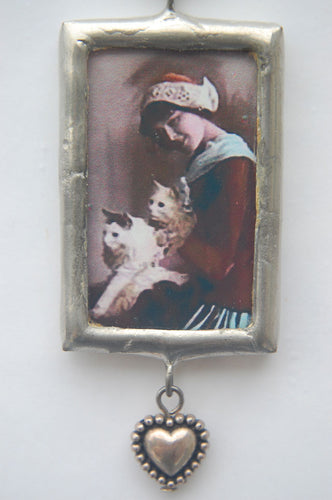 Art Collage Pendant - It's Much More Friendly
