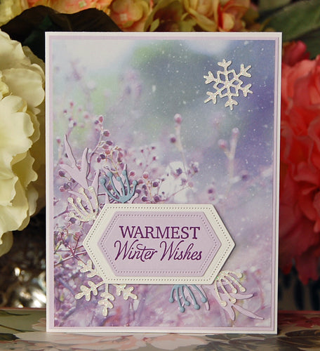 Warmest Winter Wishes - Purple