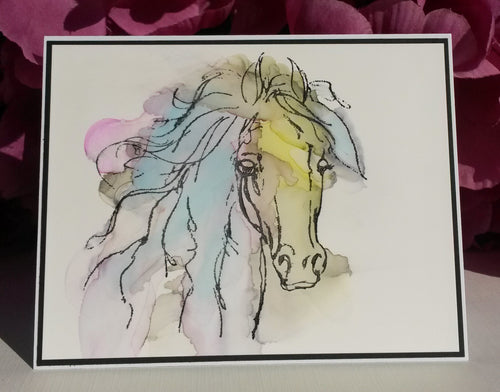 Watercolor Horse #3