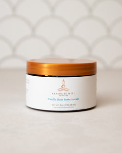 Vanilla Body Buttercream - Akasha Be Well Skincare
