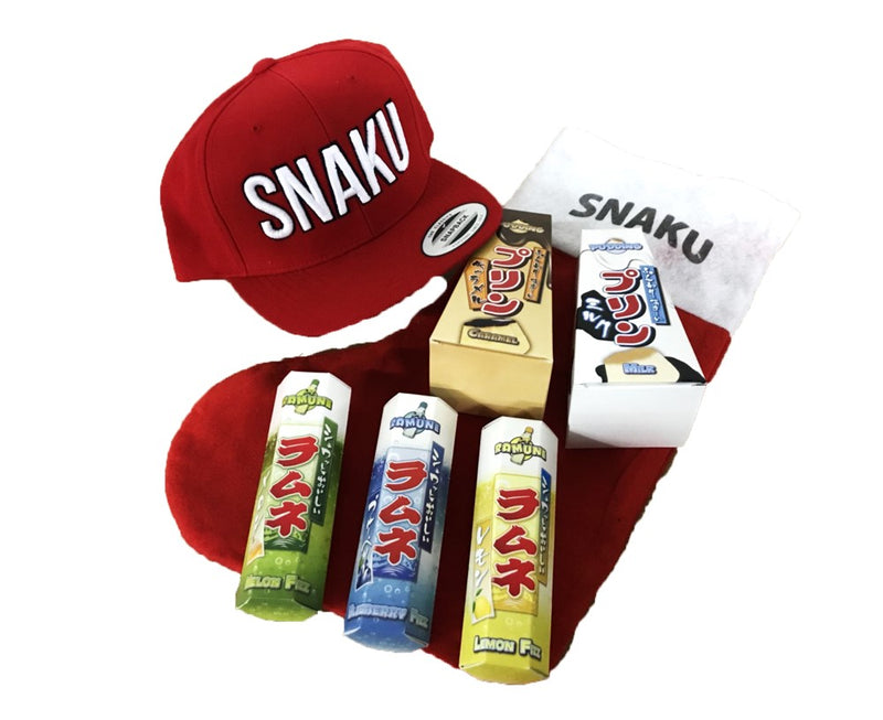 SNAKU CHRISTMAS CAPS COMBINATION