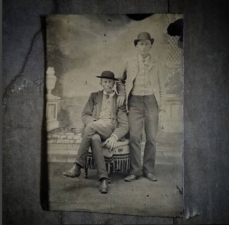Gannon Family Tintype Photo Late 1800s