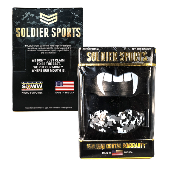 THE SOLDIER SPORTS CUSTOM 7312 MOUTH GUARD