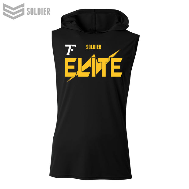 TEAM FLORIDA ELITE SLEEVELESS FOOTBALL  HOODIE