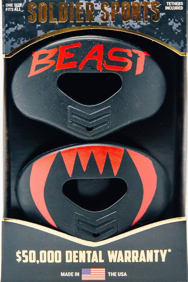 BEAST - BLK / RED