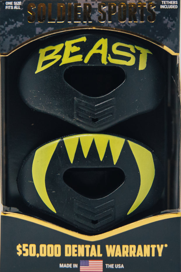 BEAST- Black/Yellow
