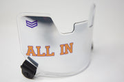 CUSTOM VISOR / EYE SHIELD - CREATE YOUR OWN!