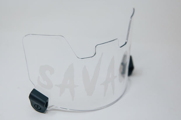 Savage Visor - CLEAR ON CLEAR