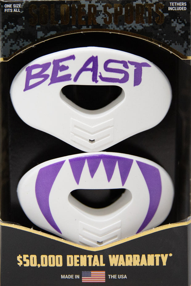BEAST- White/Purple