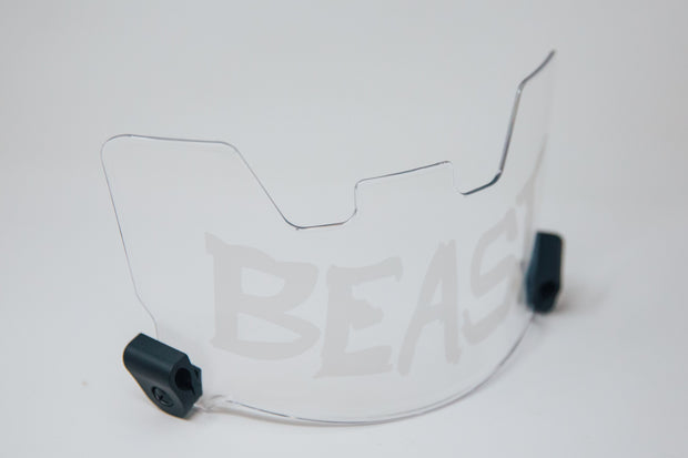 BEAST VISOR - CLEAR ON CLEAR
