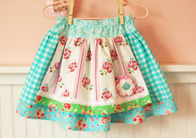 Sewing Pattern - Evelyn Apron Skirt - Sizes 2T up to 10 - PDF Sewing Pattern - Download