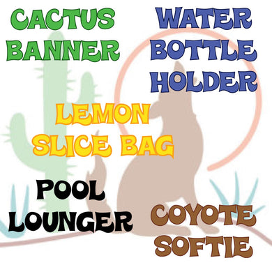 JUNE 24-28  COYOTES AND CACTUS SUMMER CAMP, 1:30-3:30