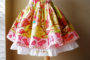 Sewing Pattern - Edith Twirl Skirt - Sizes 2T up to 10 - PDF Sewing Pattern - Download