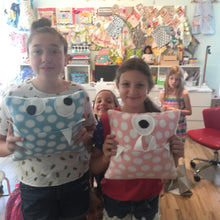 Monster Pillow (with mouth pocket!) Kid Class - Saturday, Oct 13, 10am-12noon REGISTRATION CLOSES OCTOBER 6TH