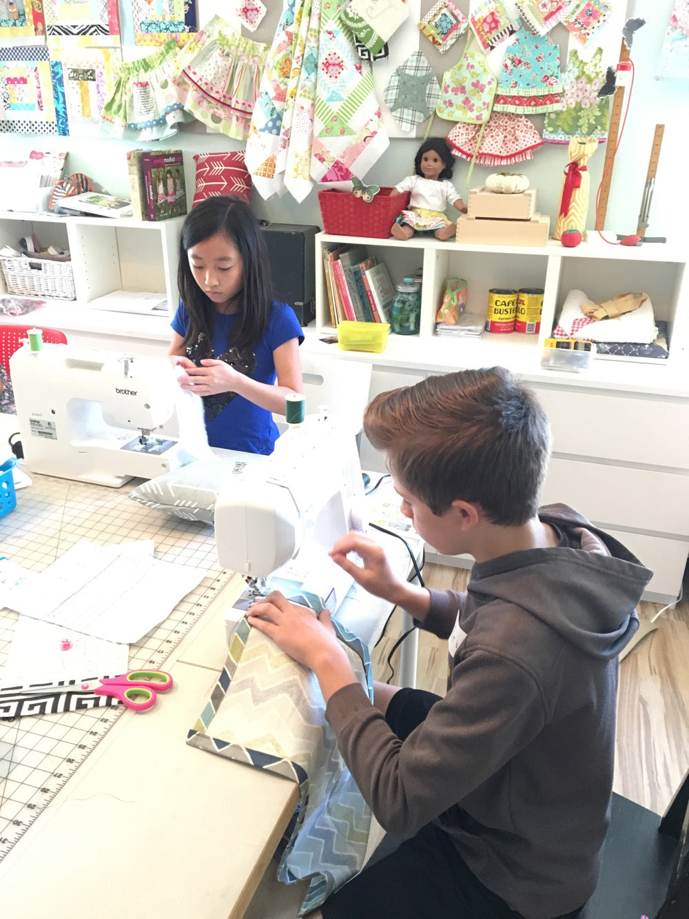 Spring Break 2020 - Beginner Sewing - Monday March 9, 9:30-12:00