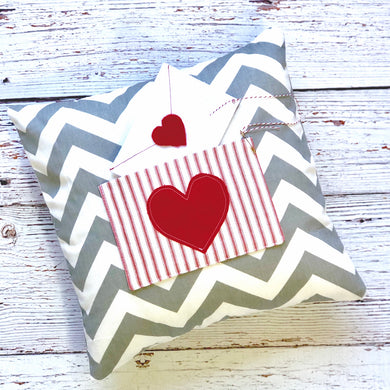 Kid Sewing - Valentine Pillow - Saturday February 8, 2020 9:30-12:00