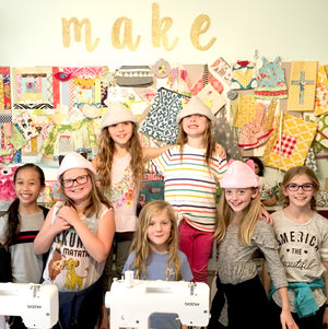 Sewing Club for Kids Mondays - January through May 2020 - 12:00-1:30