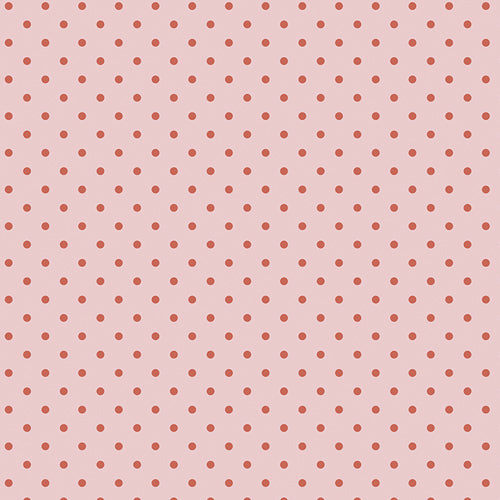 Petits Dots Rose Cotton Fabric