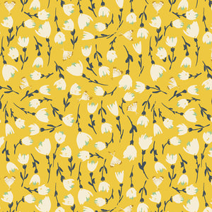 Open Road Discovered Sunshine Cotton Fabric