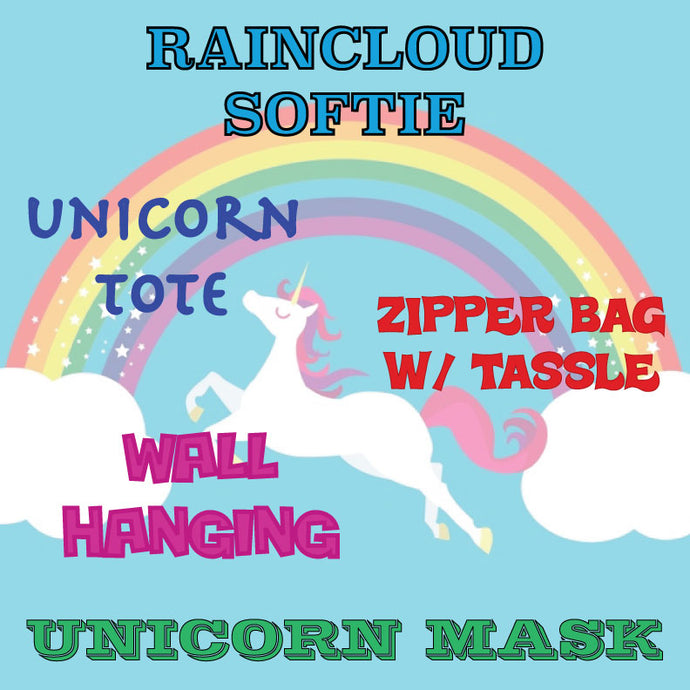 JULY 8-12    UNICORNS AND RAINBOWS SUMMER CAMP, 10:00-12:00
