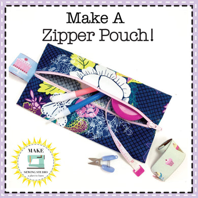 Zipper Class - Adults - Saturday, February 8, 2020 - 1:30-4:00