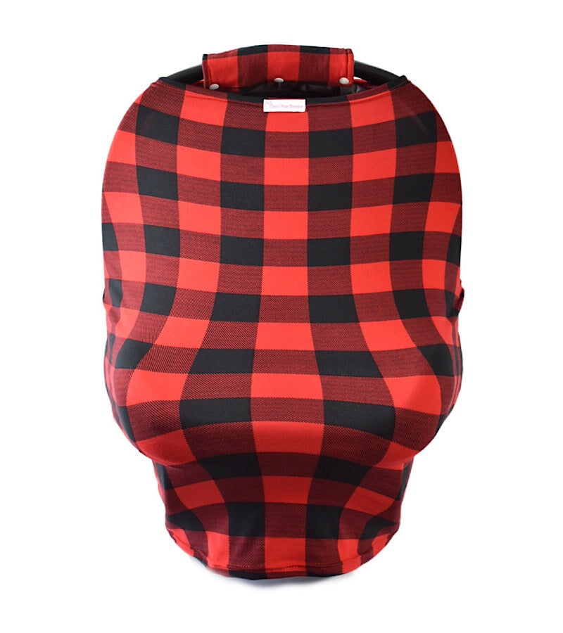 Plaid Multifunctional Cover