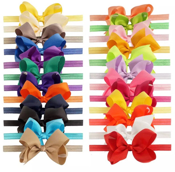 Jumbo Bow Headbands