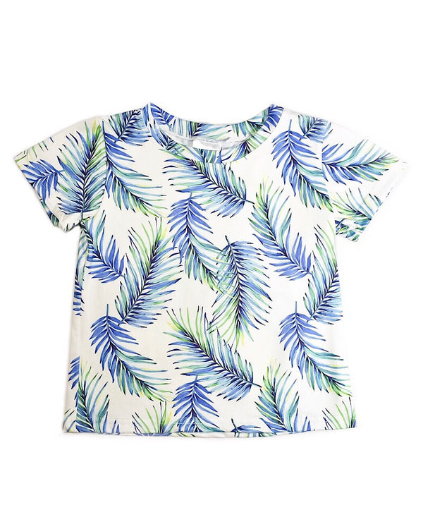 Palm Leaves T Shirt - Castle Rose Boutique