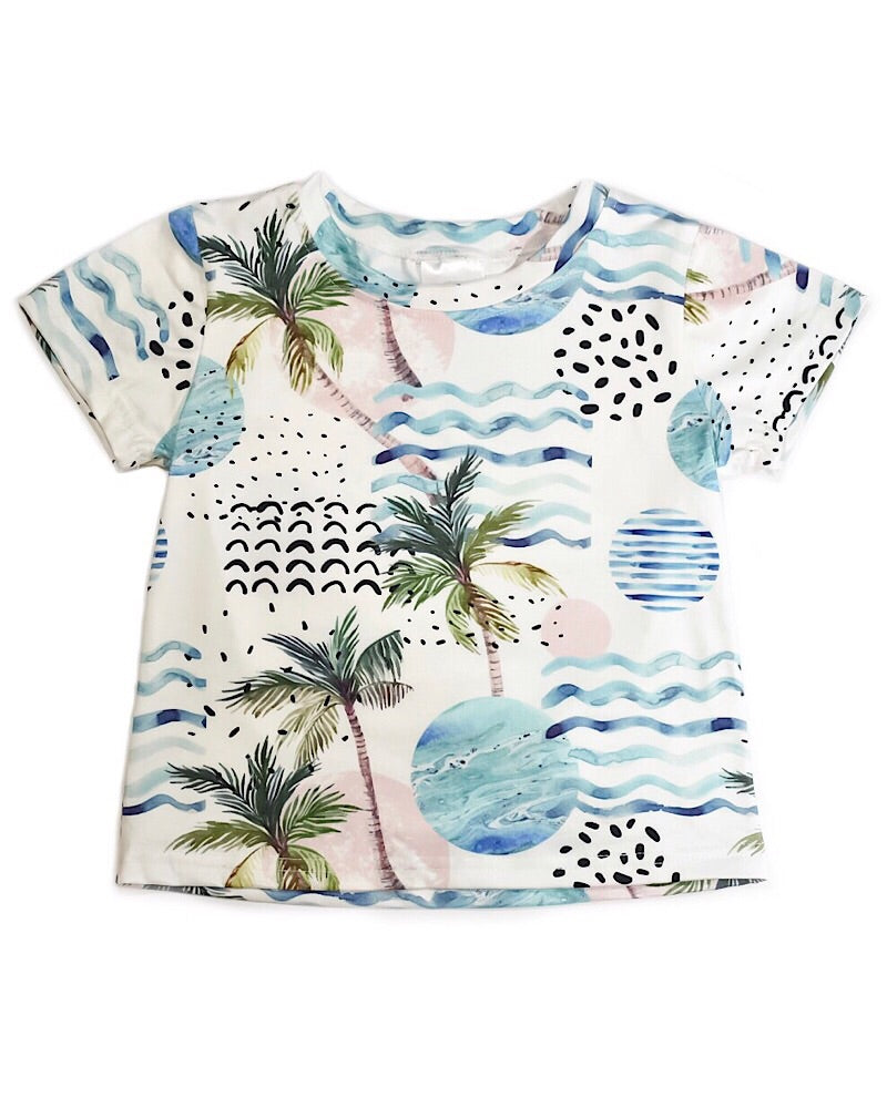 Tropical T Shirt - Castle Rose Boutique