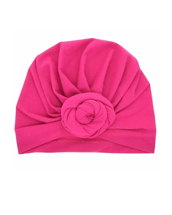 Rose Knot Turban - Castle Rose Boutique