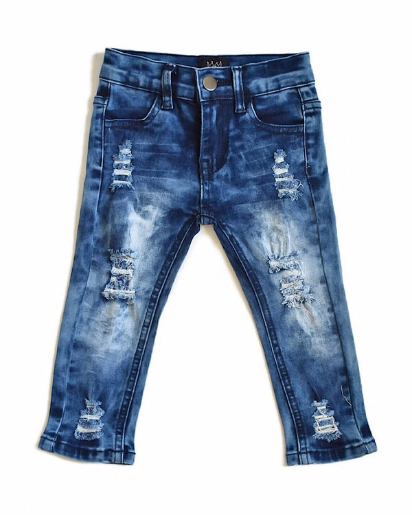 CRB Distressed Skinny Jeans