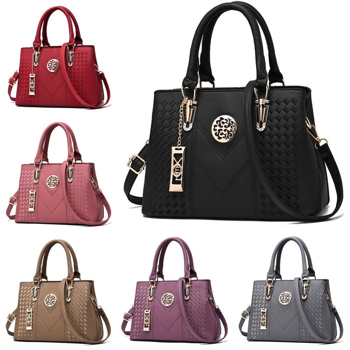 Embroidery Leather Handbags