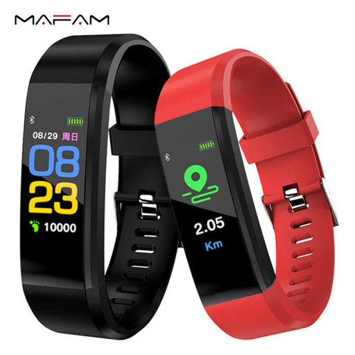 MAFAM Smart Bracelet Heart Rate Blood Pressure  Step Counter